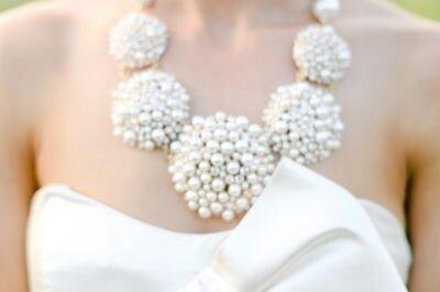 Stupite tutti con un grande e appariscente gioiello nel giorno del sì!