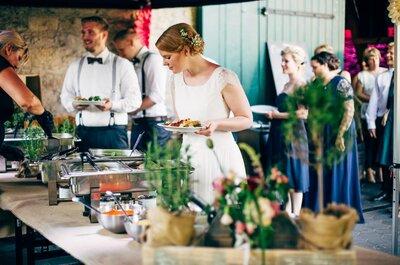 Gourmet-Brunch zur Hochzeit! So schmeckt die Liebe …