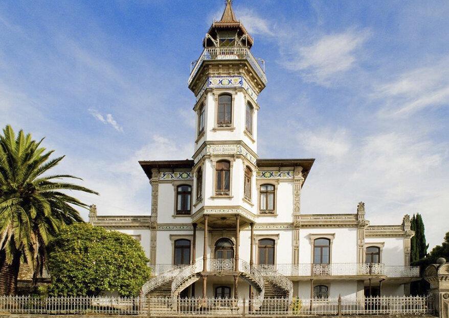 El lugar perfecto para tu boda existe y se llama Villa Idalina