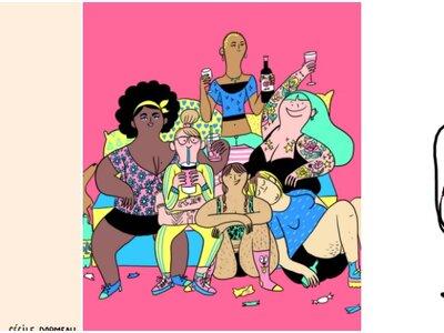20 illustrations qui prouvent que les femmes ne sont pas parfaites (et heureusement !)