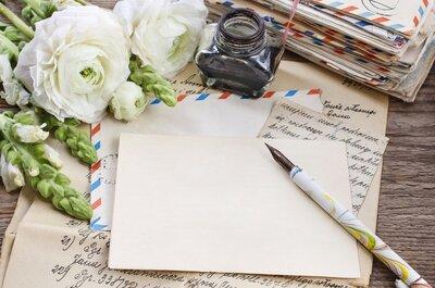 Escribe una carta de amor: dile lo que sientes de una forma tradicional
