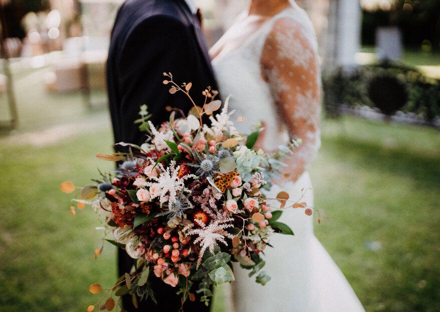 As 5 vantagens em ter um casamento de outono