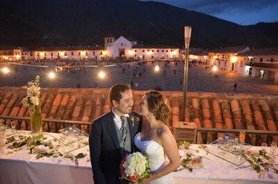 Lugares increíbles para celebrar tu boda en Colombia: ¿Cuál te gusta más?