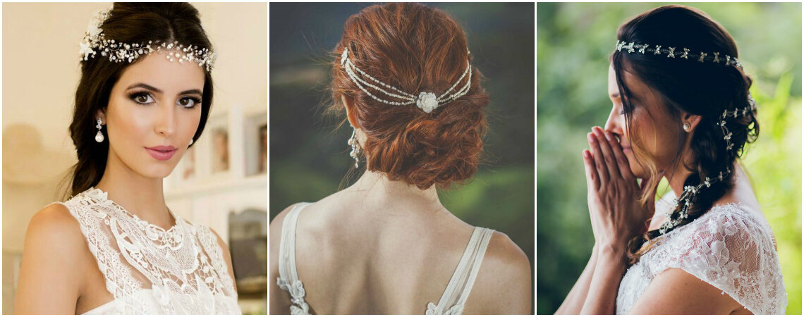 50 Stunning Hair Accessories - Perfect for Weddings in Hot Countries in 2017!