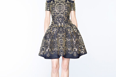 Marchesa Pre Fall 2015: Vestidos de fiesta hechos para una verdadera princesa enigmática
