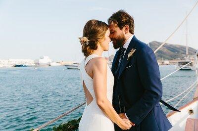 El sueño de una noche de verano: la boda de Myriam e Iván