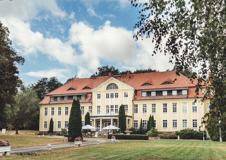 Heiraten auf Schloss Wulkow - nur JA sagen müssen Sie alleine