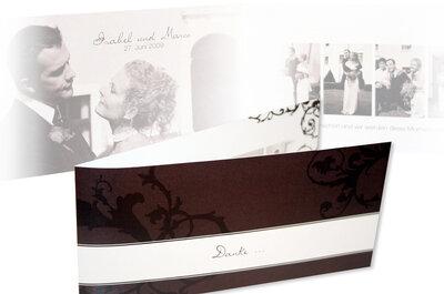Nach der Hochzeit: Danke sagen mit Stil, so verpacken Sie Ihre Worte in zauberhafte Dankeskarten!