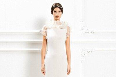 Les robes de mariée Max Mara hiver 2015 : du romantisme, de l'élégance et du spontané