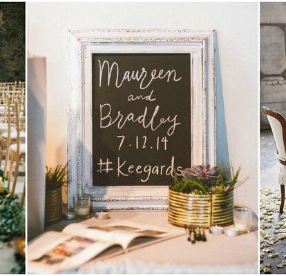 Entdecken Sie moderne Hochzeitsdekoration im Industrial Chic