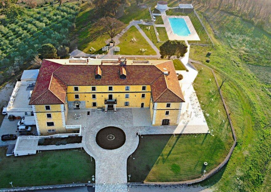 Eliceto Resort & SPA celebra le vostre nozze in una tenuta dal fascino antico ma dai comfort moderni irresistibili