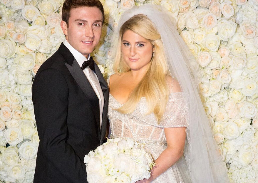 "Meghan Trainor compartilha as fotos do casamento com Daryl Sabara: ""Me senti uma princesa!"""