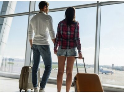 Wie schafft man es, trotz Flugangst in die Flitterwochen zu fliegen?