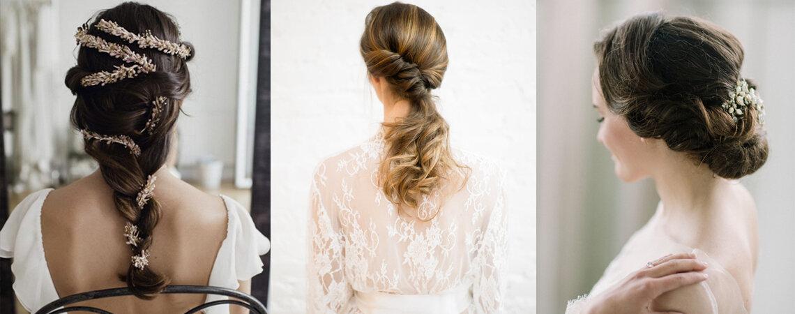 30 romantische Brautfrisuren: Zeitlose Styles, die Sie für die Hochzeit inspirieren