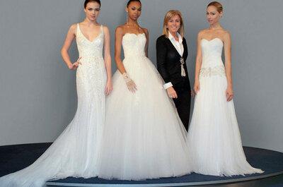 Vestidos de noiva Rosa Clará 2014: românticos e sensuais