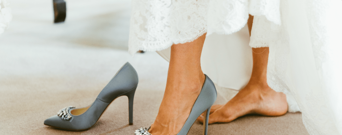 How To Choose Your Bridal Shoes in 5 Simple Steps