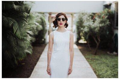 Cómo verte sensacional en tu vestido de novia: Los 5 tips que necesitas