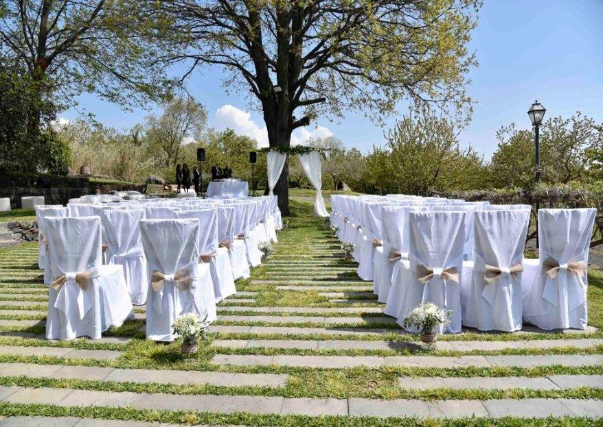 All'ombra dell'Etna, per un matrimonio che profumi di Sicilia: Ricevimenti Case Perrotta