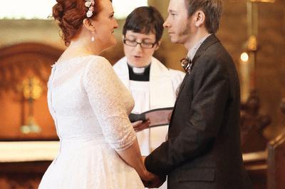 Divertida boda al estilo zombie y Star Wars
