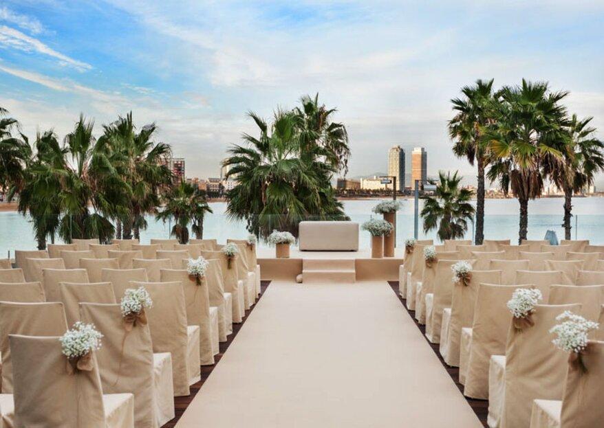 La boda que siempre soñasteis en el Hotel W Barcelona