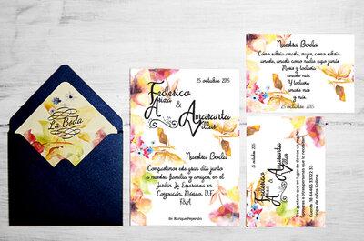 Los 3 modelos más lindos para invitaciones de boda ¡Descubre cuál es el ideal para ti!