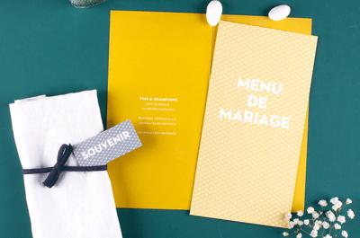 5 éléments pour bien choisir son menu de mariage !