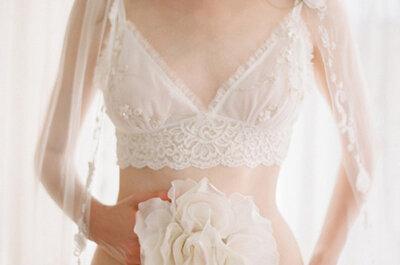 Muestra tu lado más femenino con la lencería nupcial