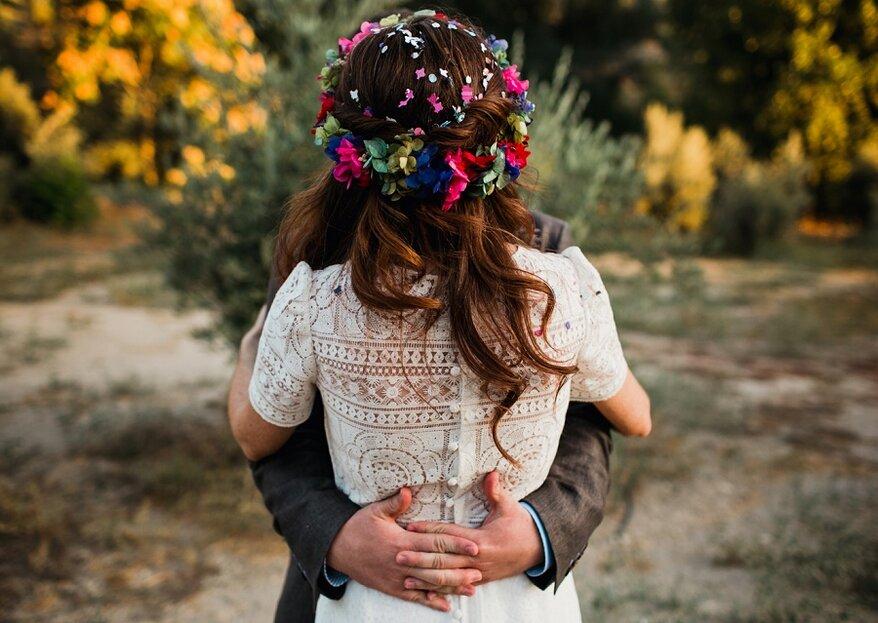 15 alternativas a un vestido de novia tradicional