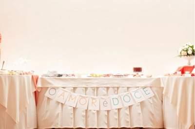 Decore o seu casamento de forma original: bandeiras e grinaldas