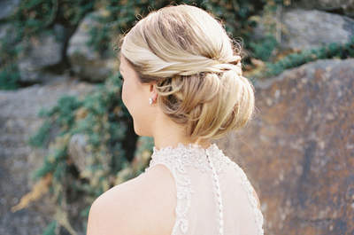 Tendencias en peinados de novia 2018. ¡Más de 60 ideas que te encantarán!