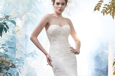 Vestidos de novia con escote corazón 2016. ¡Descubre los estilos más novedosos!