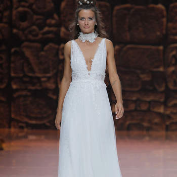 Inmaculada Garcia - Credits: Barcelona Bridal Fashion Week