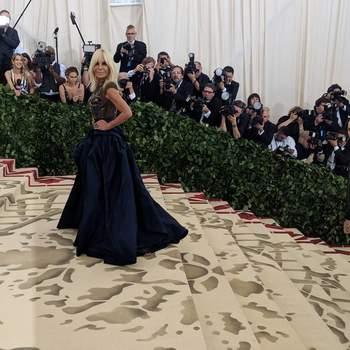 Donatella Versace em... Versace | Foto: IG Met