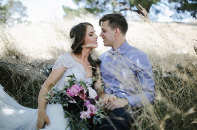 One of our favourite designers, Anna Campbell, gets married! And it's just as beautiful as we could ever have imagined!