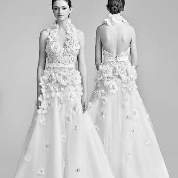 Blooming corsage gown. Credits- Viktor and Rolf.
