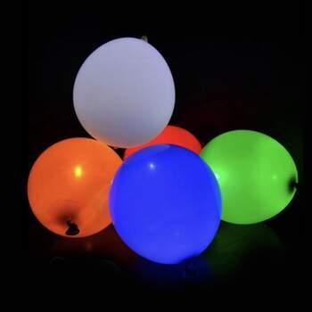 Ballons À Led Coloré 5 Pièces - The Wedding Shop