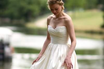 Féminine et glamour, découvrez la collection 2017 de robes de mariée Catherine Varnier !