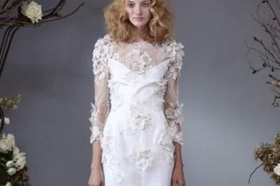 Vestidos de novia estilo vintage de Elizabeth Fillmore para otoño 2014