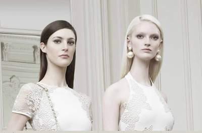 Najnowsze projekty sukien ślubnych - Elie Saab 2015 Resort