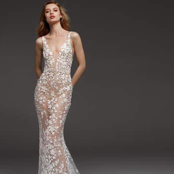 573f97ce6 70 vestidos de novia corte sirena  ¡sensualidad para cautivar en tu ...