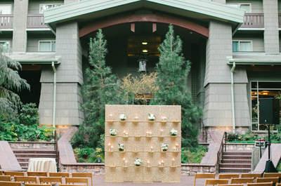 Decoração de cerimônia de casamento: ideias lindas para 2018!