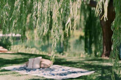 Оригинальное свадебное оформление: коврики как элемент декора в стиле фолк!