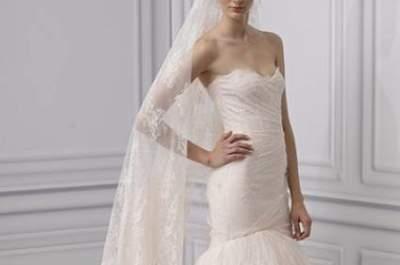 Vestido de noiva cor-de-pêssego: a minha escolha de hoje