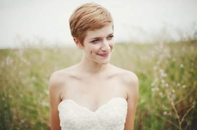 El pixie cut para novias, un estilo súper chic y en tendencia: Conoce todo sobre este peinado must