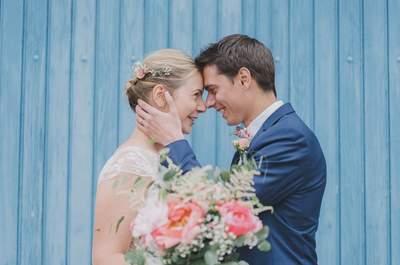 Émilie + Benjamin : Un beau mariage organisé en 7 mois !