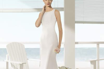 Vestidos de novia para mujeres con poco pecho. ¡Diseños que no querrá dejar escapar!