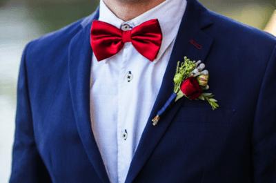 7 razões para noivos estilosos AMAREM gravatas borboleta!