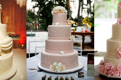 Bolos de casamento tradicionais: o clássico nunca sai de moda!