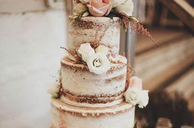 Tendencias en tartas de boda 2017. ¡Postres únicos para tu gran día!