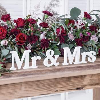 Lettres Mr Et Mrs - The Wedding Shop !